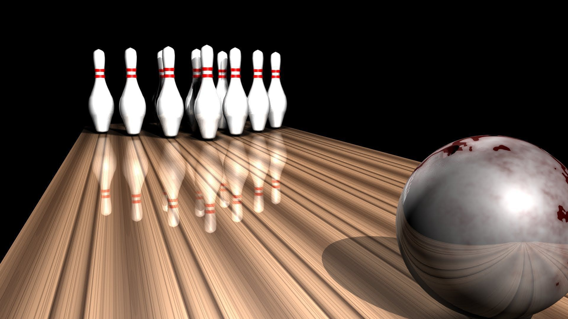 Bowling HD Background