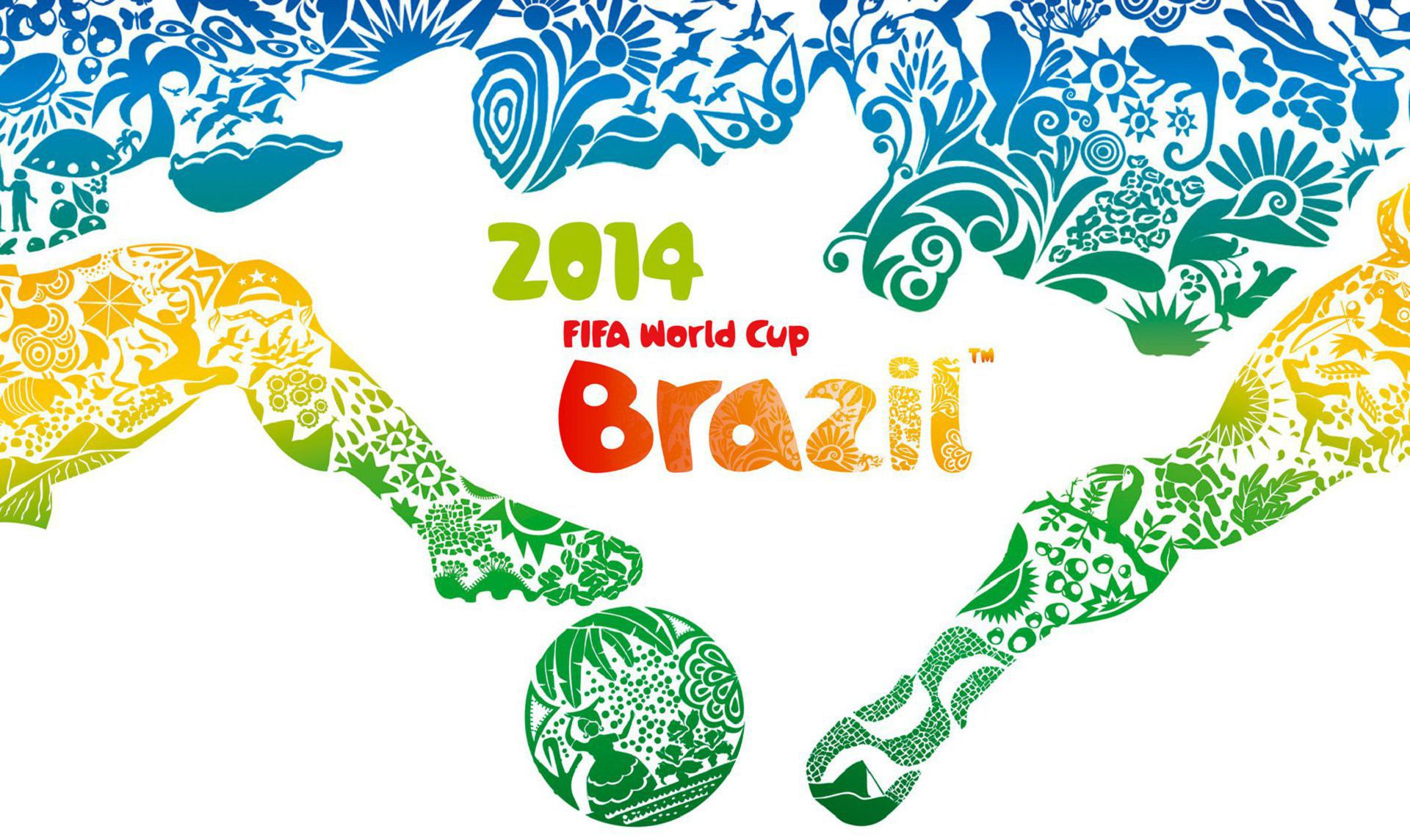 Brazil World Cup 2014 High Definition Wallpapers