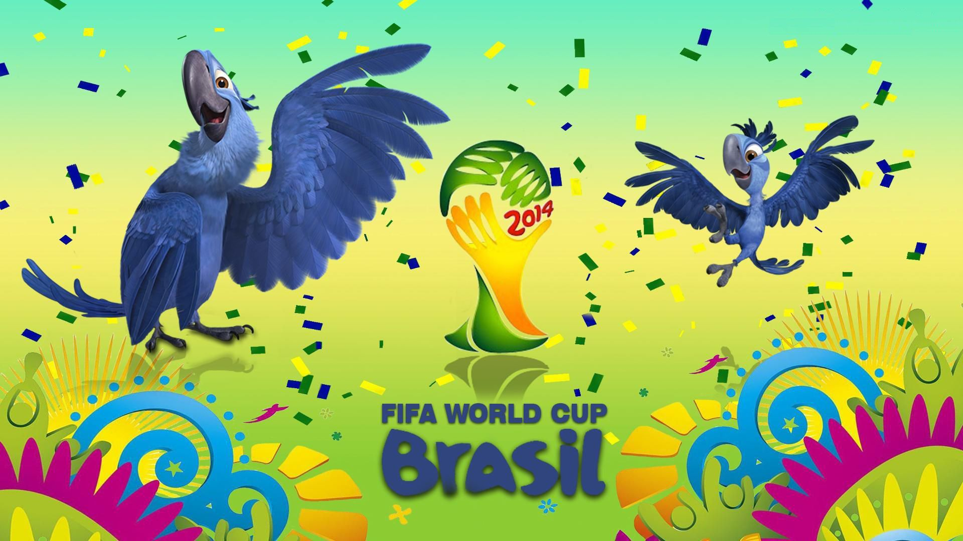 Brazil World Cup 2014 High Quality Wallpapers