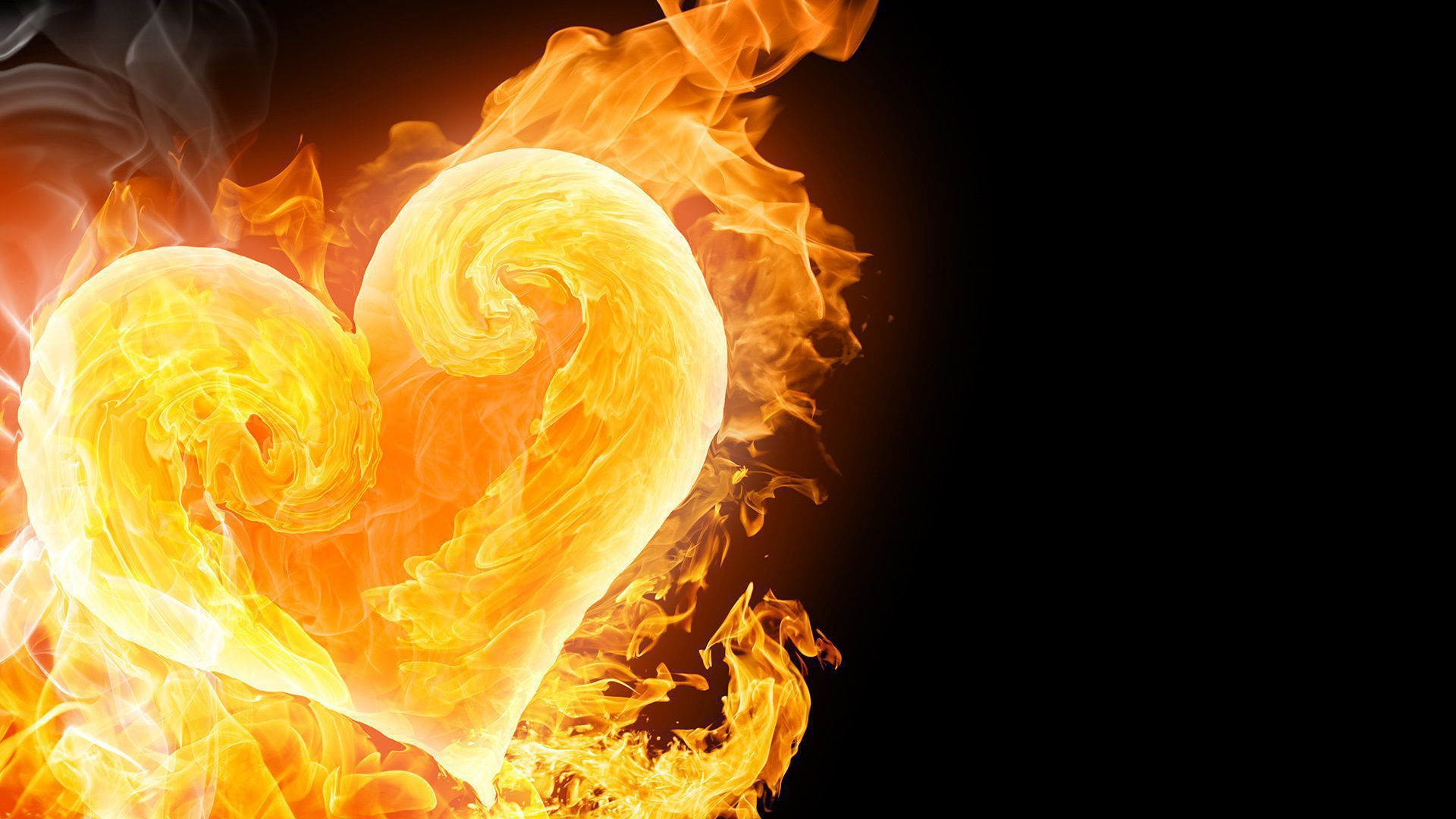 Burning Heart Wallpapers HD
