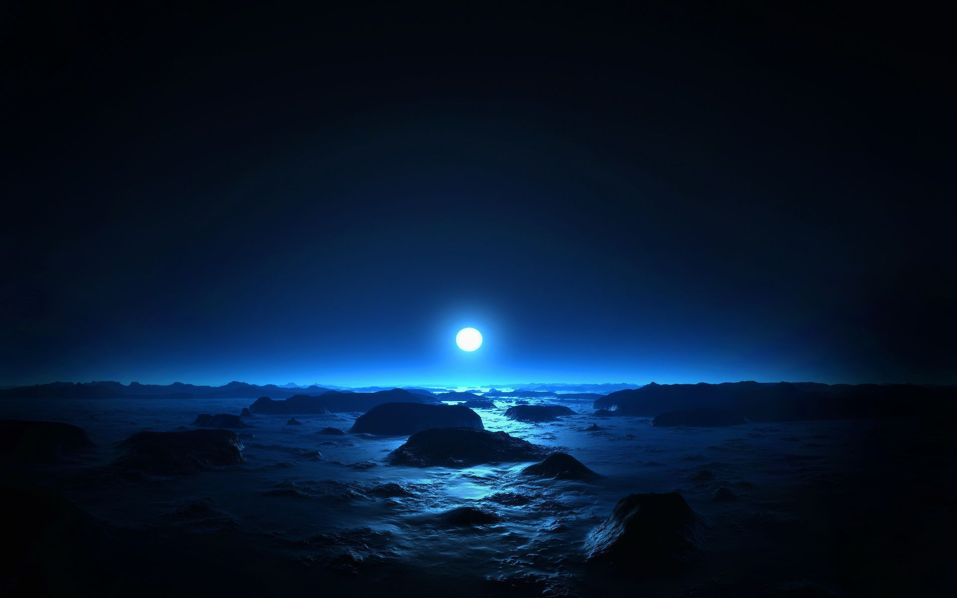 Picture Blue Moon