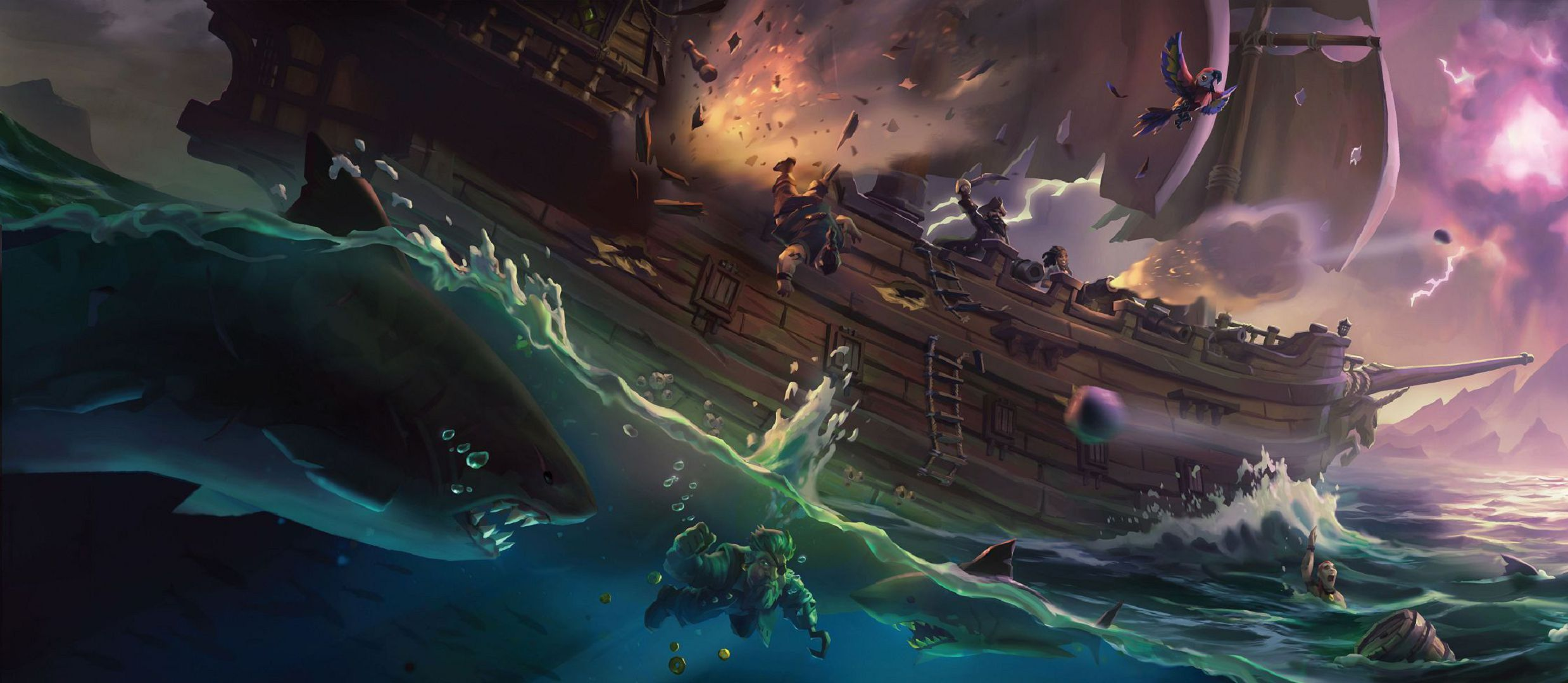 Sea Of Thieves Wallpapers