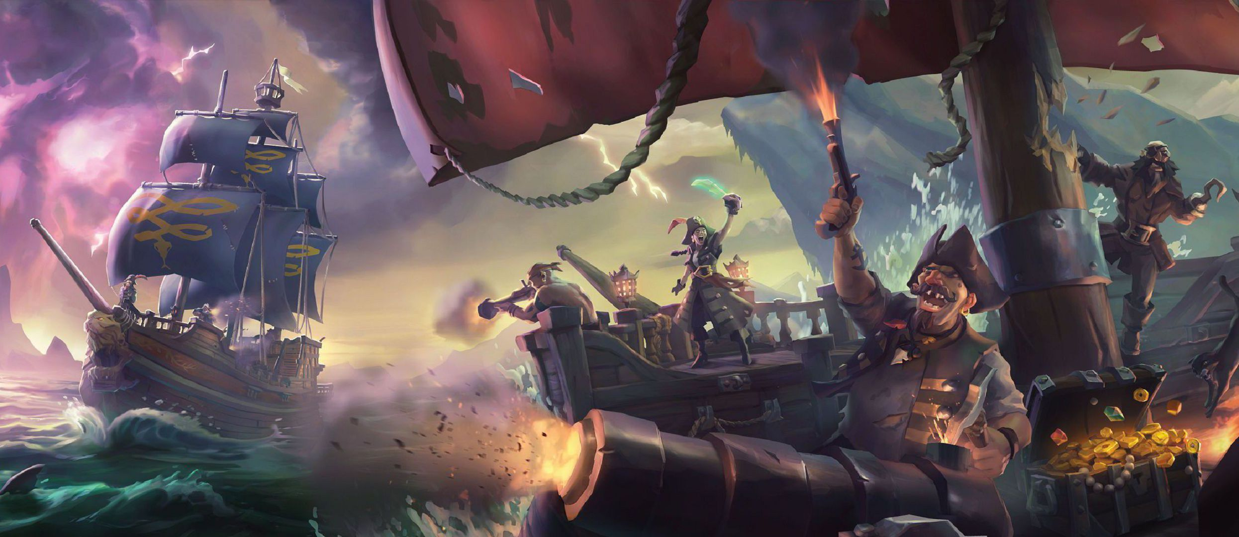 Sea Of Thieves Wallpaper Pack