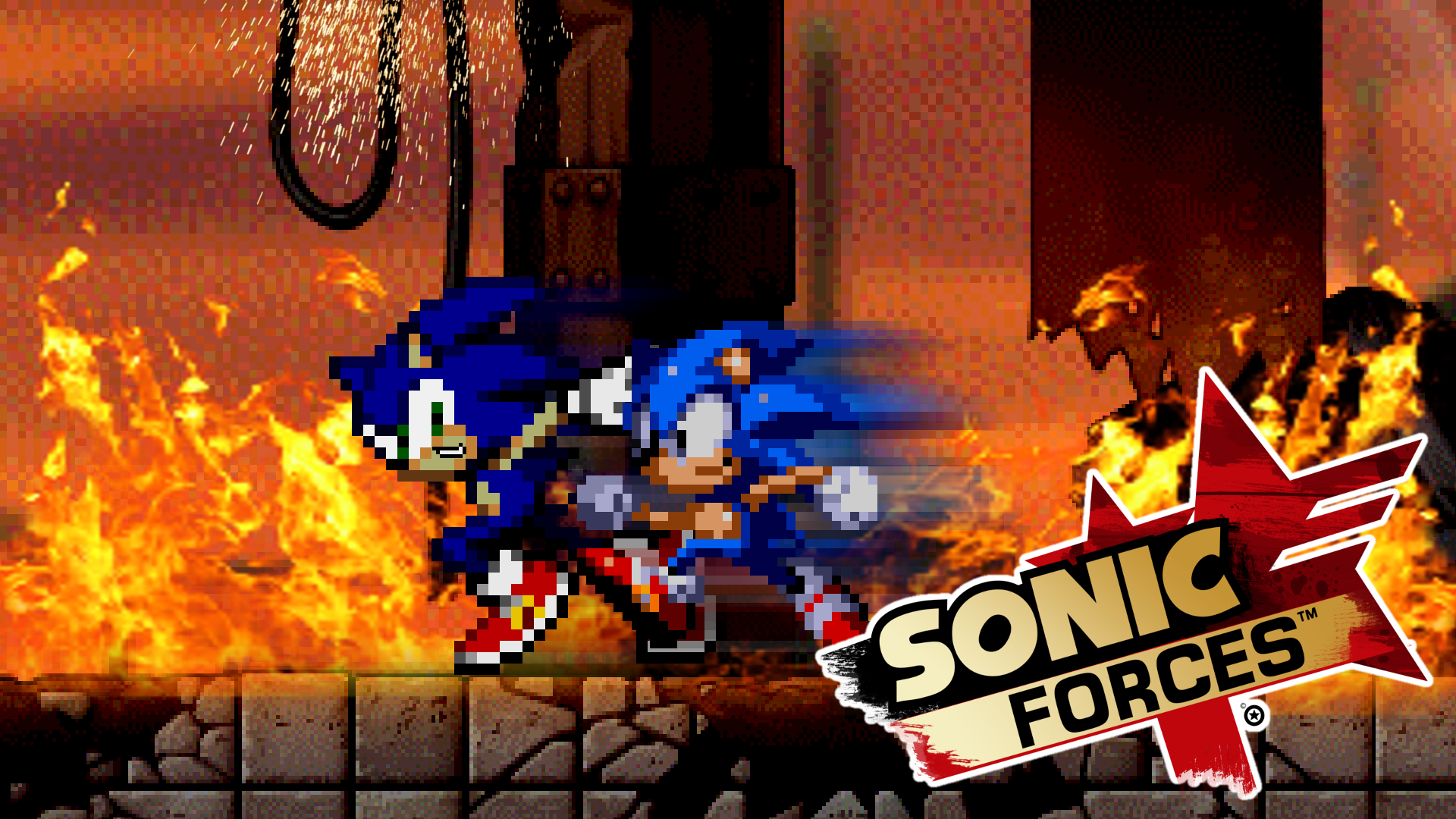 Sonic Forces Gallery