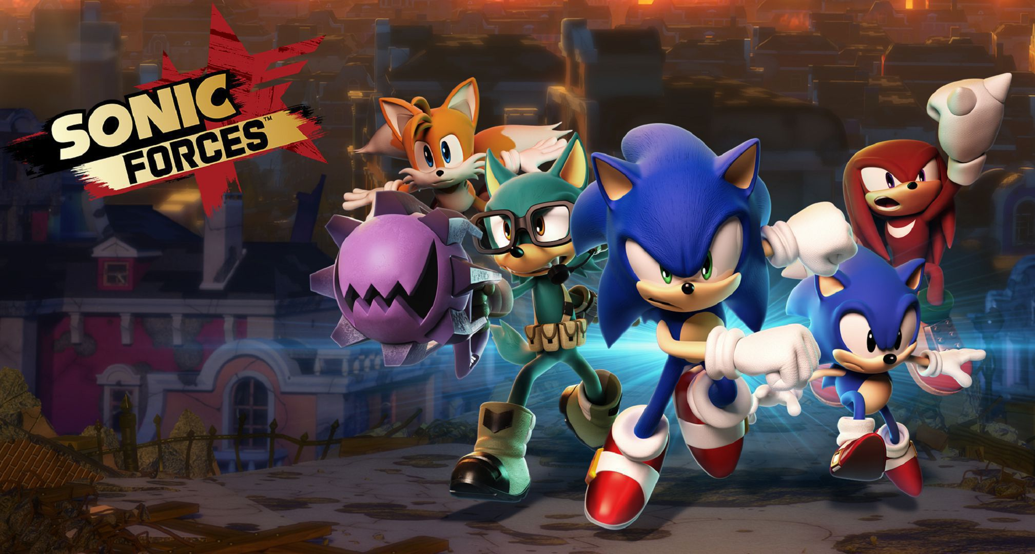 Sonic Forces Widescreen