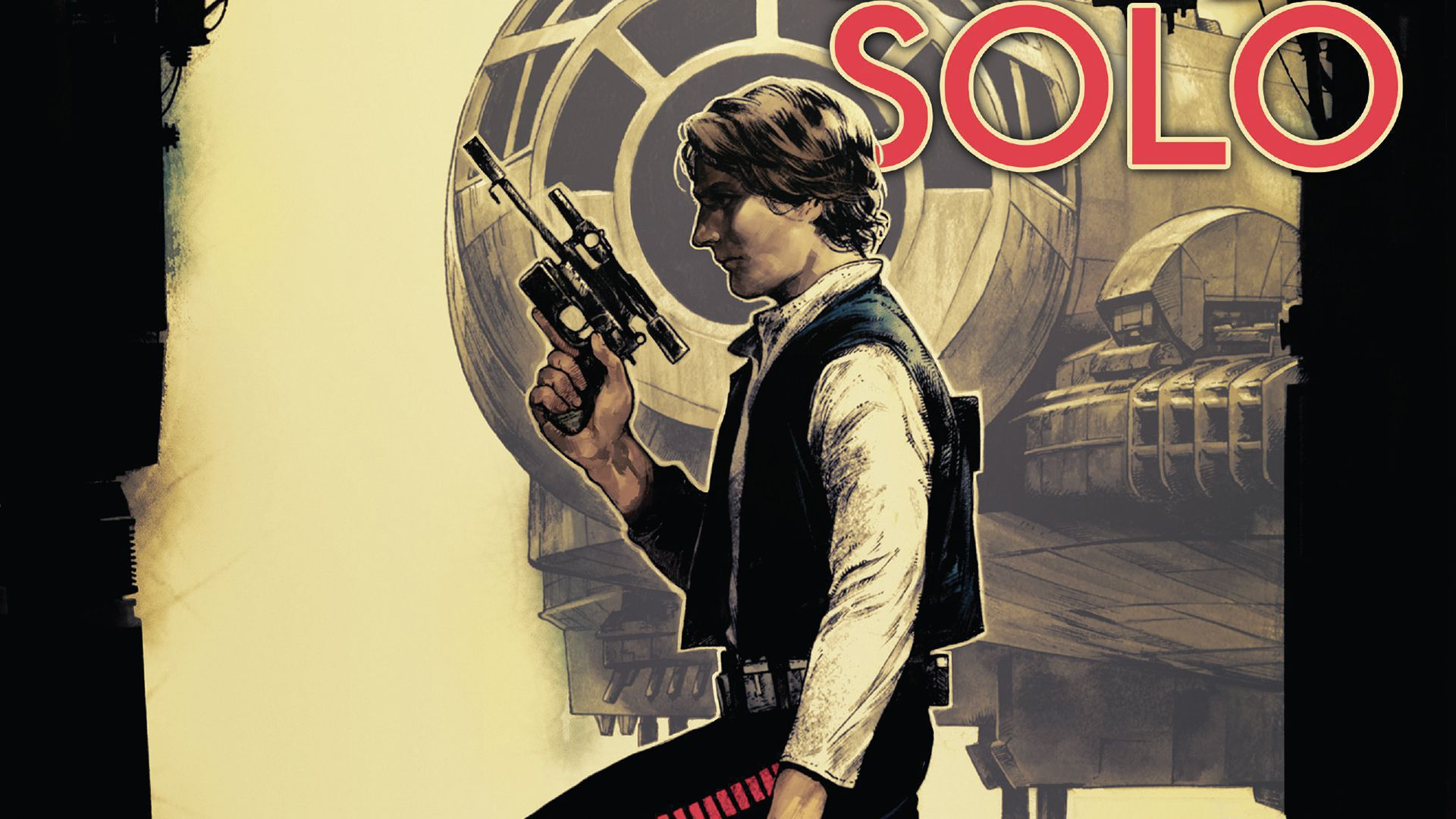 Star Wars Han Solo Widescreen