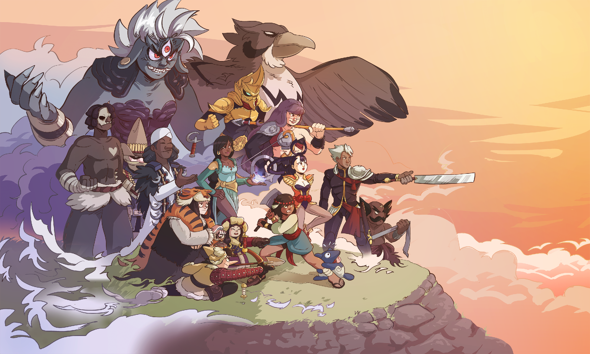Indivisible Cast04 3000 By Pehesse D9f9xb6