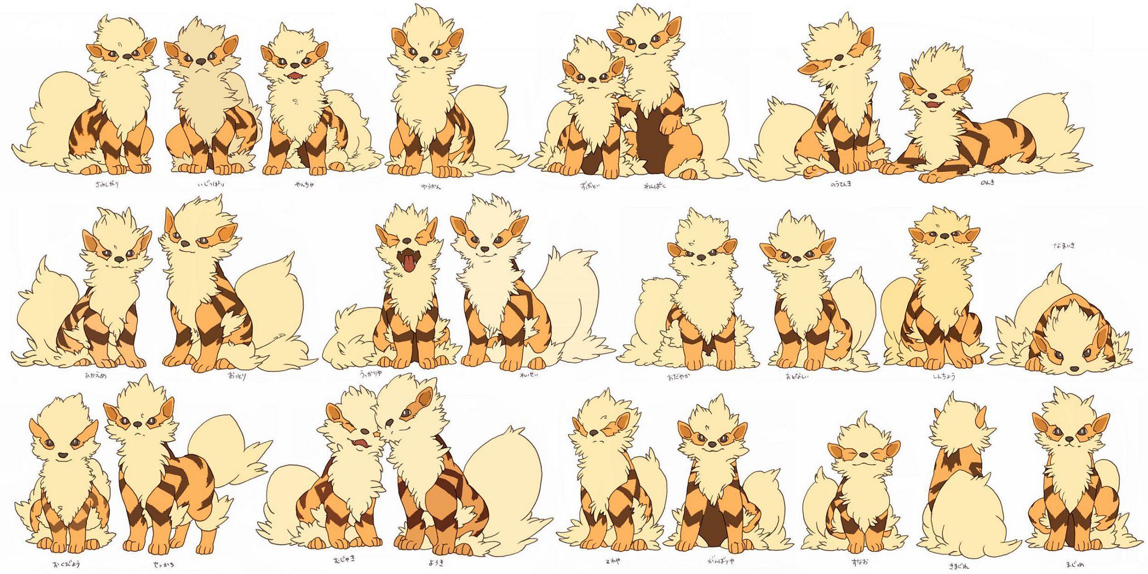 Arcanine In High Resolution