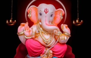 3d Wallpaper Of Lord Ganesha
