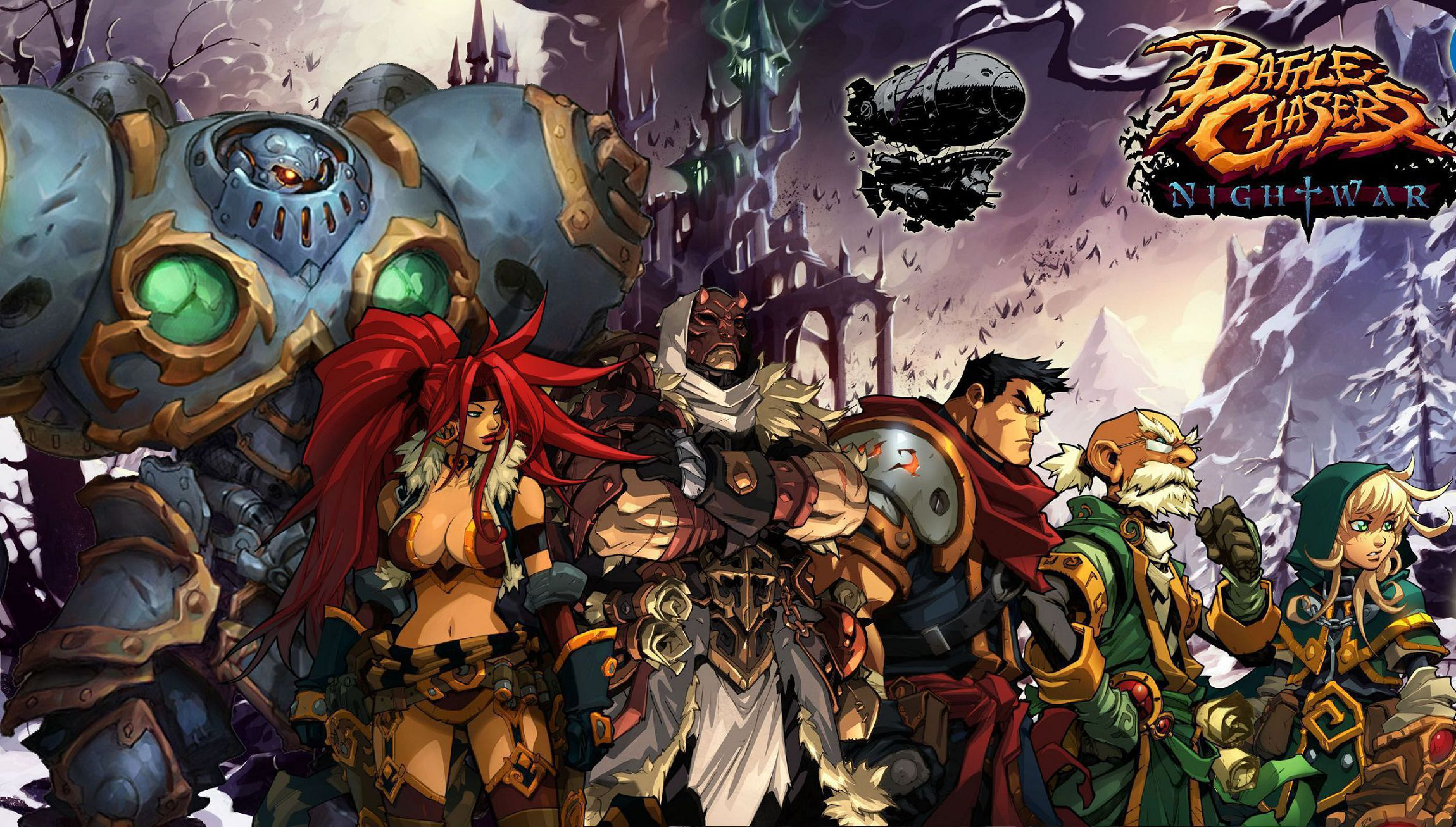 Battle Chasers Nightwar High Definition Wallpapers