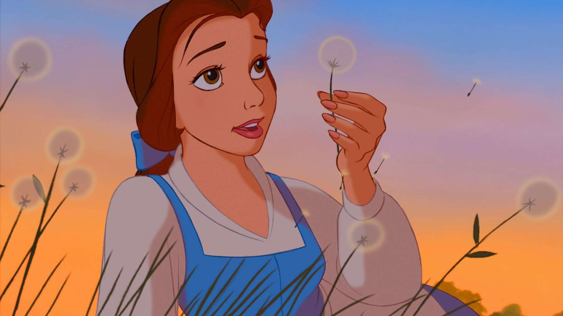 Belle Beauty And The Beast Background