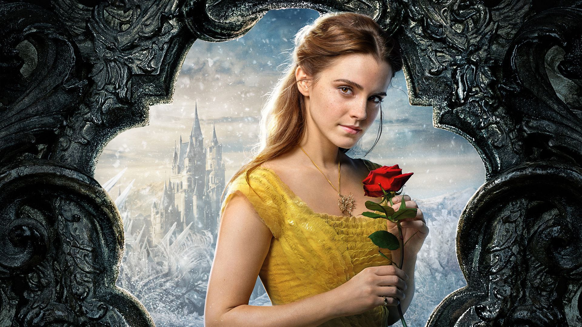 Belle Beauty And The Beast High Definition Wallpapers