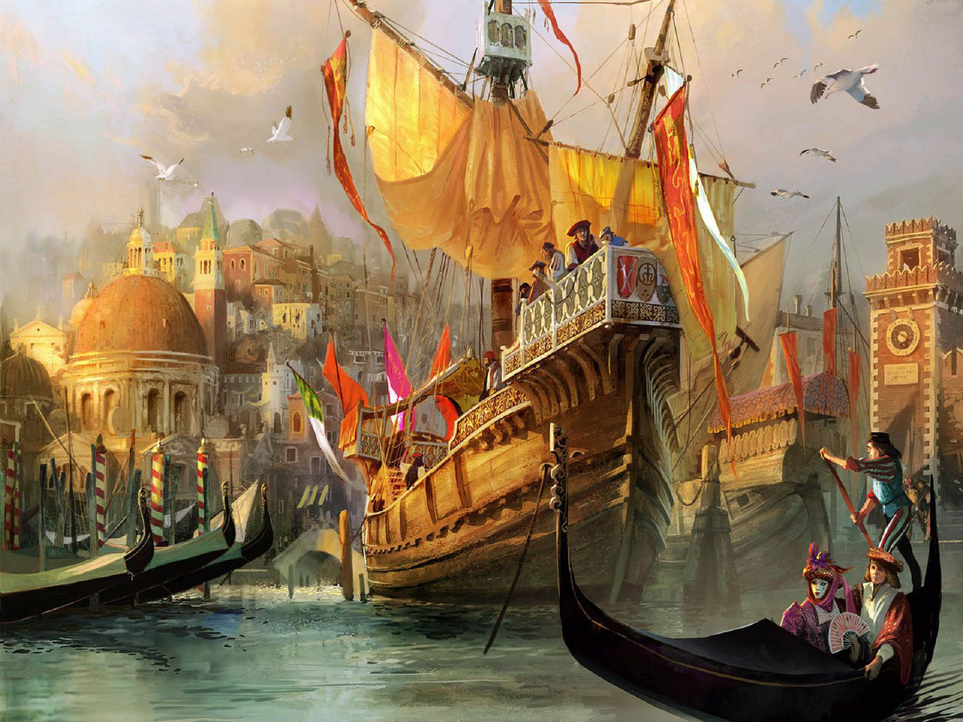 Anno 1404 High Definition Wallpapers
