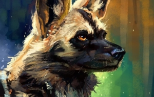 African Wild Dog Wallpapers Pack