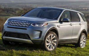 Land Rover Discovery 2020 Black Gallery