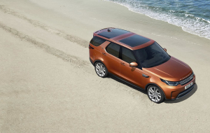 Land Rover Discovery 2020 Black High Resolution