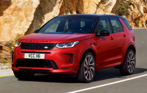 Land Rover Discovery 2020 Black Photos