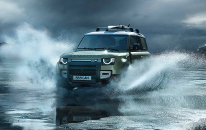 Land Rover Discovery 2020 Black Pics