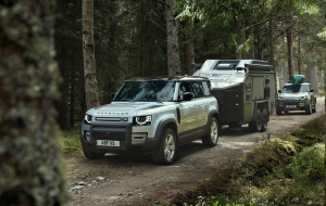 Land Rover Discovery 2020 Gray Beautiful Wallpaper