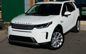 Land Rover Discovery 2020 Gray Computer Wallpaper