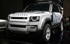 Land Rover Discovery 2020 Gray Wallpaper