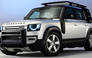 Land Rover Discovery 2020 Gray Wallpapers For IPhone