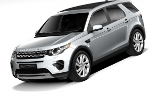 Land Rover Discovery 2020 Gray Wallpapers Pack