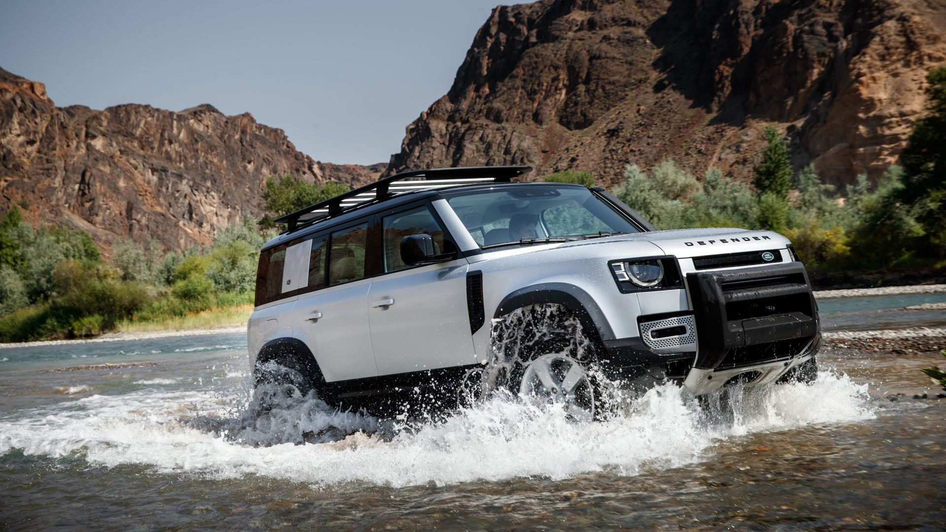 Land Rover Discovery 2020 gray