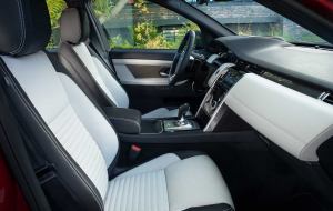 Land Rover Discovery 2020 Interior Wallpaper