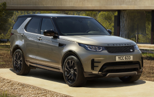 Land Rover Discovery 2020 Red Computer Wallpaper