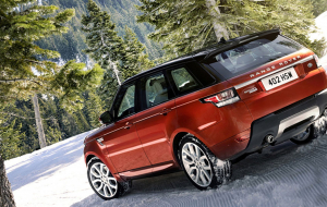 Land Rover Discovery 2020 Red Full HD Wallpapers