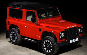 Land Rover Discovery 2020 Red High Resolution