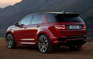 Land Rover Discovery 2020 Red In HQ