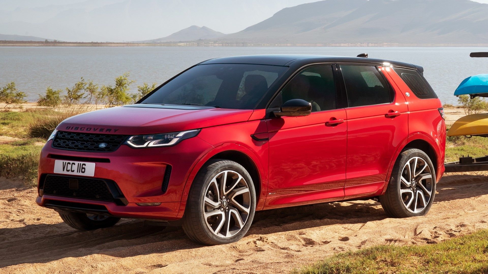 Land Rover Discovery 2020 red phone, desktop wallpapers ...