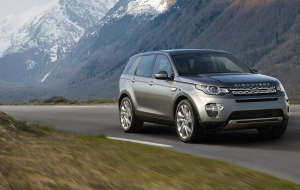 Land Rover Discovery 2020 Silver Beautiful Wallpaper