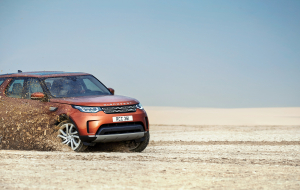 Land Rover Discovery 2020 Silver Full HD Wallpapers