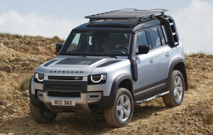 Land Rover Discovery 2020 Silver Wallpapers HD