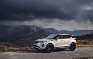 Land Rover Discovery 2020 Silver Wallpapers Pack