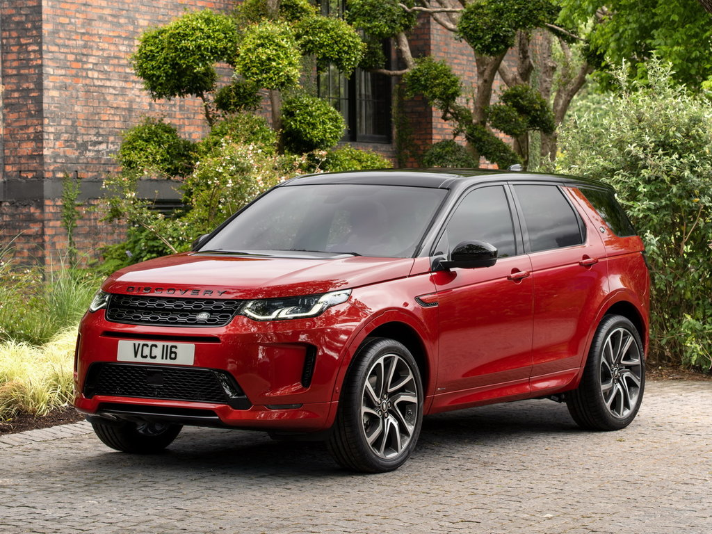 Land Rover Discovery 2020 silver