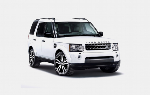 Land Rover Discovery 2020 White Computer Wallpaper