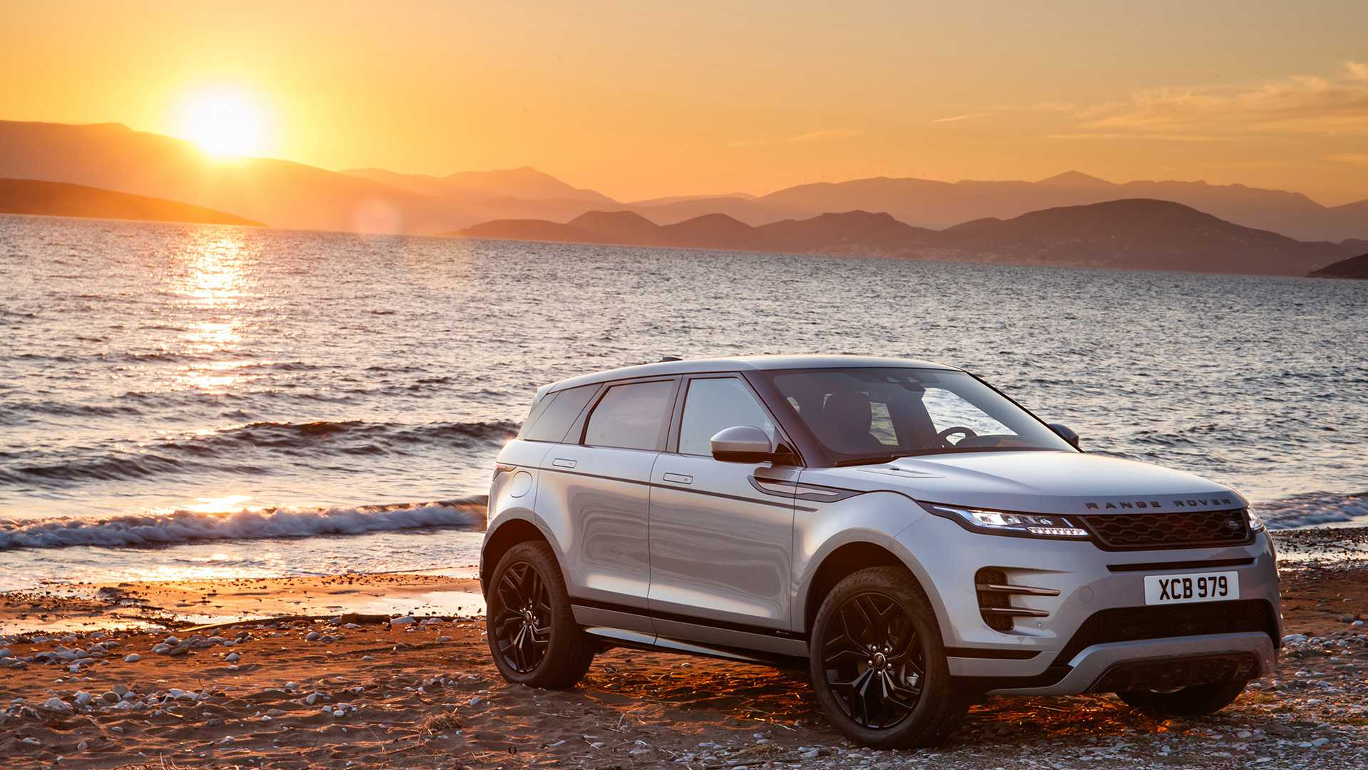 Land Rover Discovery 2020 white phone, desktop wallpapers ...