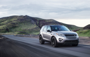 Land Rover Discovery 2020 White Wallpaper