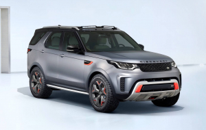 Land Rover Discovery 2020 White Wallpapers Pack