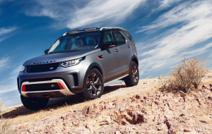 Land Rover Discovery 2020 White Widescreen