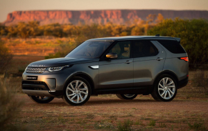 Land Rover Discovery Hybrid 2020 High Resolution