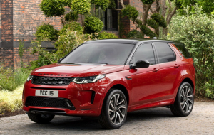 Land Rover Discovery Sport 2020 Black Computer Wallpaper