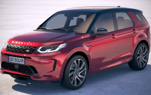 Land Rover Discovery Sport 2020 Black Full HD Wallpapers