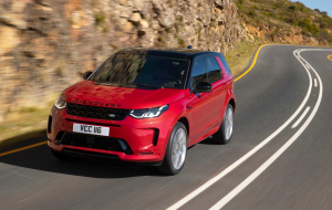 Land Rover Discovery Sport 2020 Black Wallpapers HQ