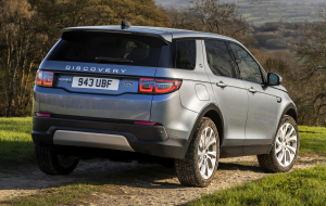 Land Rover Discovery Sport 2020 Black Wallpapers Pack