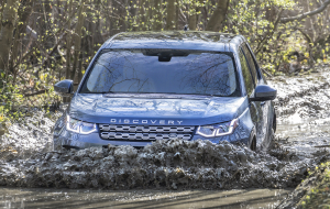 Land Rover Discovery Sport 2020 Blue Beautiful Wallpaper